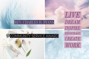 Rev. C. H. Ryans Service Award
