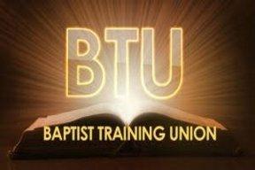 July is Baptist Training Union Month