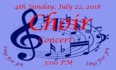 Banner Choir Day website 2018