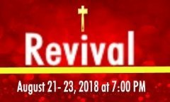 Banner Revival website 2018
