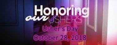 banner ushers' Day