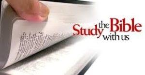 Prayer, Praise and Bible Study