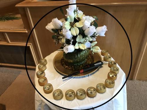 PRAYER WARRIORS TABLE